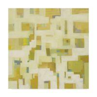 Trademark Fine Art Harbor Windows III 18-Inch Square Canvas Wall Art