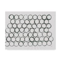 Trademark Fine Art Circle Element 1 18-Inch x 24-Inch Wall Art