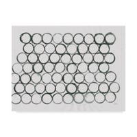 Trademark Fine Art Circle Element 1 24-Inch x 32-Inch Wall Art