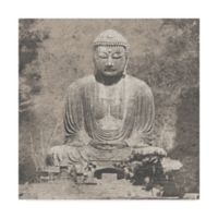 Trademark Fine Art Asian Buddha 24-Inch x 24-Inch Canvas Wall Art