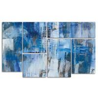 Melissa Averinos 6-Piece Industrial III Panel Canvas Art in Blue