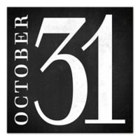 "Designs Direct ""October Thirty-One"" 16-Inch Square Canvas Wall Art"