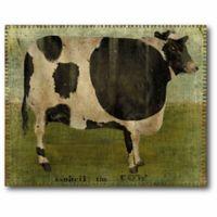 Courtside Market Folk Farm Animal 20-Inch x 24-Inch Canvas Wall Art