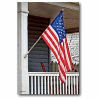 Courtside Market USA Flag 26-Inch x 18-Inch Wall Art