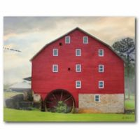Courtside Market Willow Grove Mill 24-Inch x 20-Inch Wall Art