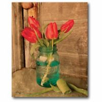 Courtside Market Country Tulips 24-Inch x 20-Inch Wall Art
