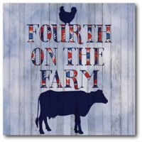 "Courtside Market ""Fourth on the Farm"" Canvas Wall Art"