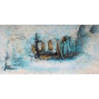 Moe's Home Collection 60-Inch x 30-Inch Blue Dream Wall Art