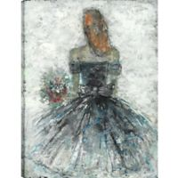The Flower Girl 24-Inch x 18-Inch Canvas Wall Art