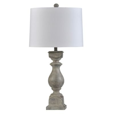 Table Lamp In Gray