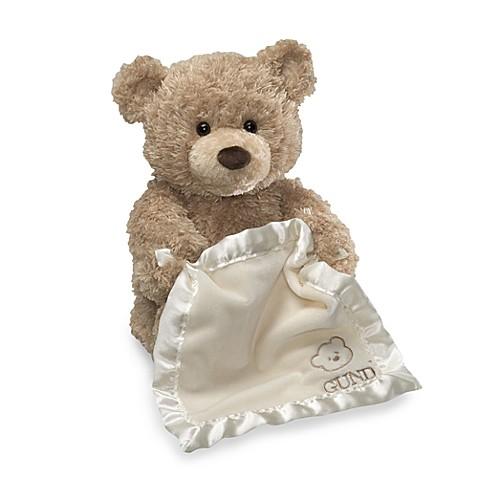 Gund 174 11 5 Inch Peek A Boo Bear Buybuy Baby