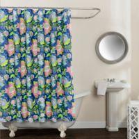 Avignon Floral Multicolor 54-Inch 78-Inch Shower Curtain