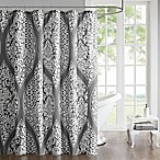 Jaclin Shower Curtain in Grey