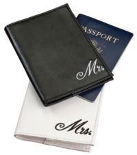 Lillian Rose™ Mr. and Mrs. Passport Covers 2-Piece Set