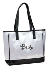 Lillian Rose™ Bride White Tote Bag