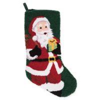 20-Inch Jolly Saint Nick Christmas Stocking