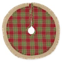 VHC Brands Robert Mini Christmas Tree Skirt