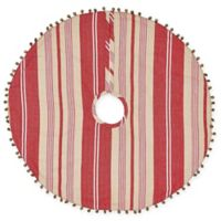 Vintage Stripe Mini Christmas Tree Skirt