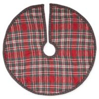 Anderson Patchwork Mini Christmas Tree Skirt in Plaid