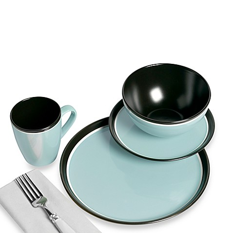 TABLETOPS gallery® 16-Piece Argentina Dinnerware Set - Blue - Bed ...