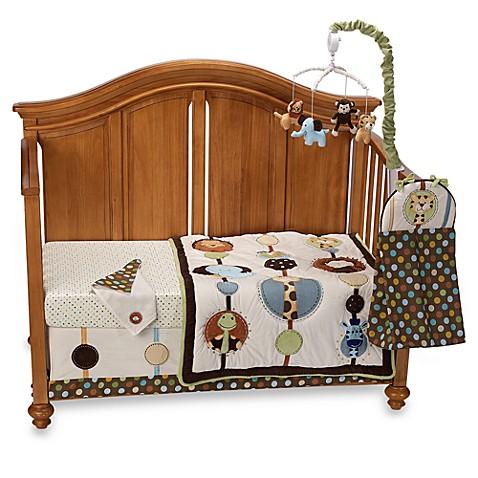 Nojo Crib Bedding Jungle Tales