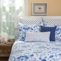 C&F Home Sasha Reversible Twin Quilt Set in Blue