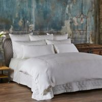 Frette At Home Bohemian Embroidered King Pillowcases in Ivory (Set of 2)