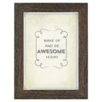 Rustic 5-Inch x 7-Inch Frame in Brown