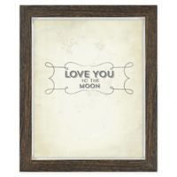 Rustic 8-Inch x 10-Inch Frame in Brown