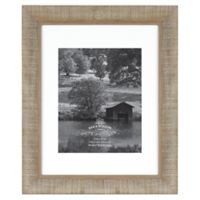 Rustic Impressions 8-Inch x 10-Inch Wood Photo Frame in Acacia