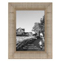 Rustic Impressions 5-inch x 7-Inch Acacia Wood Picture Frame