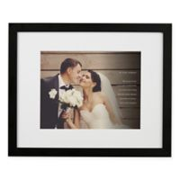 Wedding Sentiments 16-Inch x 20-Inch Framed Photo Print