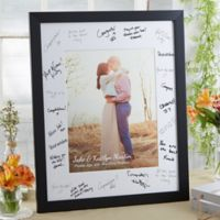 Wedding Guest 8-Inch x 10-Inch Signature Photo Frame