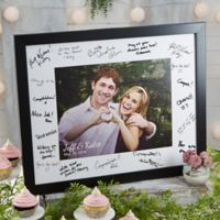 Wedding Shower 11-Inch x 14-Inch Signature Photo Frame