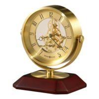 Howard Miller Solomon Skeletron Tabletop Clock