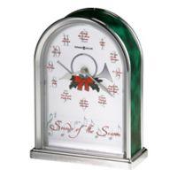 Howard Miller Sounds of Season Christmas Tabletop Clock