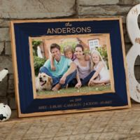 Family Is Precious 5-Inch x 7-Inch Wood Picture Frame