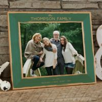 Family Is Precious 8-Inch x 10-Inch Wood Picture Frame