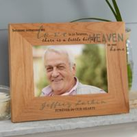 Heaven In Our Home 4-Inch x 6-Inch Wood Picture Frame