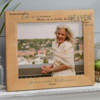 Heaven In Our Home 8-Inch x 10-Inch Wood Picture Frame