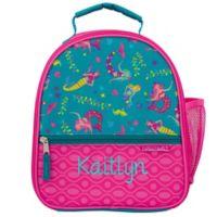 Stephen Joseph® Embroidered Allover Print Mermaid Lunch Bag
