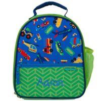 Stephen Joseph® Embroidered Allover Print Transportation Lunch Bag