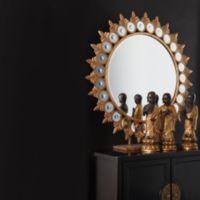Two's Company® Tozai™ Sun Mirror on Pedestal