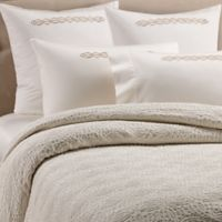 Frette At Home Boho Fashion King Coverlet in Ivory