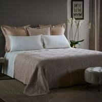Frette At Home Boho Fashion King Coverlet in Powder Pink