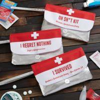 Personalized Bachelorette Party Survival Kit Wristlet