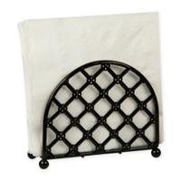 Home Basics® Lattice Napkin Holder in Black