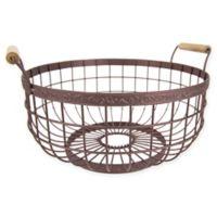 Home Basics® Amsterdam Fruit Basket in Bronze
