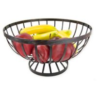 Home Basics® Rustic Fruit Basket in Bronze