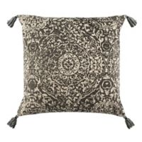 Safavieh Sidonia Square Throw Pillow in Grey